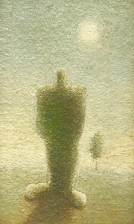 Автопортрет с руками в кармане штанов