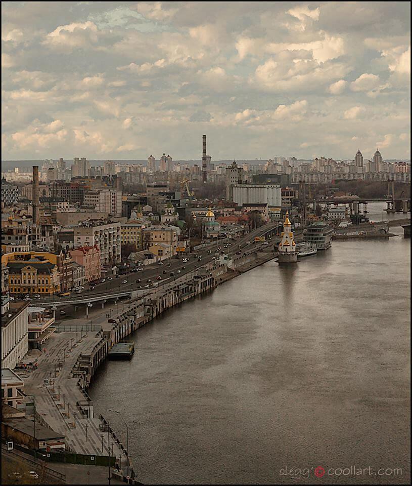 Киев, Набережная
